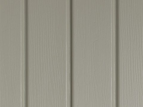 Tan vertical siding
