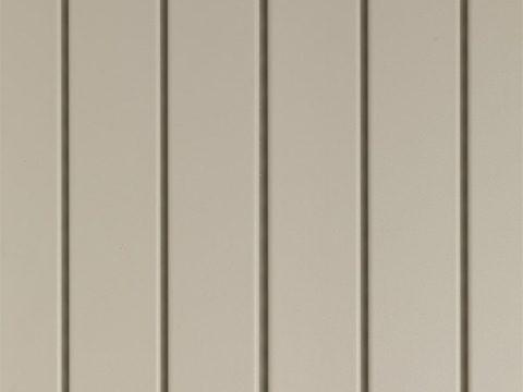 Tan triple 3-1/2 solid vinyl soffit